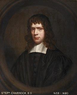 Stephen Charnock English Puritan Presbyterian clergyman