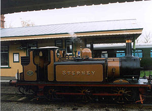 William Stroudley - A1 class Stepney on the Bluebell Railway
