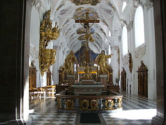 Stams - Image: Stift Stams 5