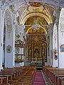 Stiftskirche Ossiach Juli 2018 Innenaufnahmen 01.jpg