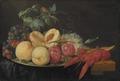 Still Life with Fruit and Boiled Crayfish (Joris van Son) - Nationalmuseum - 17638.tif