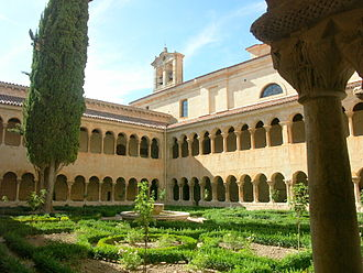 Abbey of Santo Domingo de Silos - The cloister with twisted columns