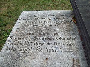 Benjamin Stoddert - Grave of Benjamin Stoddert, September 2009