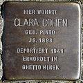 Stolperstein Delmenhorst - Clara Cohen (1898).JPG