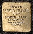 Stolperstein Eitelstr 27 (Rumbg) Leopold Drucker.jpg