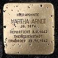 Stolperstein Essener Str 11 (Moabi) Martha Arndt.jpg