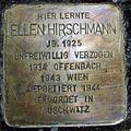 Stolperstein Gießen Nordanlage Ellen Hirschmann.JPG
