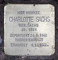 Stolperstein Helmstedter Str 12 (Wilmd) Charlotte Sachs.jpg