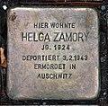 Stolperstein Karl-Liebknecht-Str 31 (Mitte) Helga Zamory.jpg