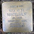 Stolperstein Kleve An der Münze 7-9 Max Meir Mandelbaum.jpg