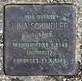 Stolperstein Lessingstr 9 (Hansa) Lina Schindler.jpg