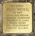 Stolperstein Meerscheidtstr 13 (Westend) Julius Magnus.jpg