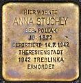 Stolperstein Salzburg, Anna Stuchly (Rainerstraße 2).jpg