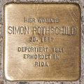 Stolperstein Simon Rothschild by 2eight 3SC1338.jpg