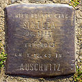 Stumbling block for a Sinteza (Kämmergasse 14)