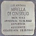 Stolperstein für Mirella Di Consiglio (Rom).jpg