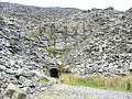 Stone arched drainage tunnel from the old Graig-ddu pit - geograph.org.uk - 572659.jpg