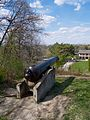 Stoney Creek Battlefield Monument cannon1 May 2015.jpg