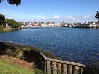 Stornoway - Image: Stornoway from Cuddy Point