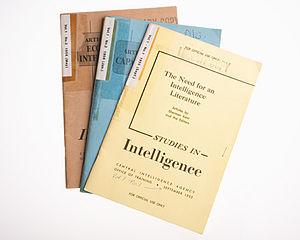 Studies in Intelligence - Image: Studies in Intelligence
