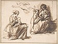 Study Sheet with Two Seated Children and an Angel MET DP800358.jpg
