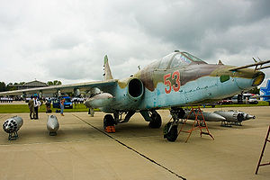 Sukhoi Su-25 - Su-25 at Kubinka air base