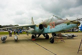 Sukhoi Su-25 - Su-25 at Kubinka air base