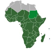 Sub Saharan Africa   Wikipedia