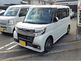 Subaru CHIFFON CUSTOM RS Limited Smart Assist (DBA-LA600F) front.jpg