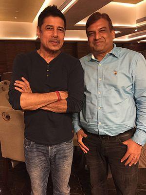 Sudesh Berry - Sudesh Berry with producer Anil Kabra