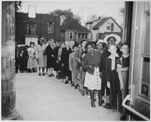 United States home front during World War II - Sugar rationing