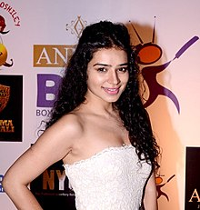 Sukirti Kandpal at the success party of Box Cricket League.jpg