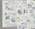 Summer Kimono (Yukata) with Illustrations from the 1802 novel 'Hizakurige' (Shank's Mare) by Ikku Jipensha (1765-1831) LACMA M.2006.37.6 (8 of 9).jpg