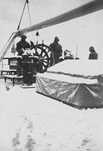 Suomen Joutsen first voyage