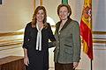 Susana Díaz y Roberta Lajous Vargas - 14.11.11-Audiencia Embajadora México.jpg