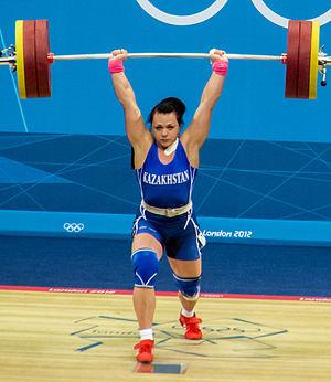 Svetlana Podobedova - Podobedova at the 2012 Summer Olympics
