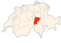 Switzerland Locator Map UR.svg