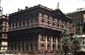 Australian Securities Exchange - The Sydney Stock Exchange building in 1959