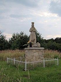 Szewnia Górna - figurka Matki Boskiej (02) - DSC01592 v1.jpg