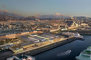 Terrasses du port - The seafront view of the Terrasses du Port extends an impressive 260 meters