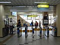 TRA Xizhi Station ticket barriers rear 20180616.jpg