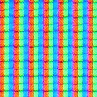 "Sharp Aquos - Close up of LCD pixels showing ""white"" (taken from Sharp Aquos LC-32BV8E)"