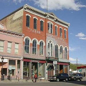 Baby Doe Tabor - The Tabor Opera House in Leadville
