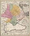 Tabula geographica qua pars Rusiae Magnae - Pontus Euxinus seu Mare Nigrum et Tartaria Minor cum finitimis Bulgariae Romaniae et Natoliae Provinciis LOC 2011585232.jpg