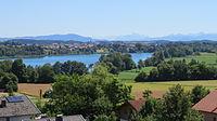 Taching a S - Gh Bergwirt - Tachinger See, Tettenhausen.JPG