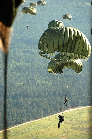 Operation Black Thunderstorm - Airborne paratroopers took active participation in the war and pushed Taliban back to areas adjacent to Afghanistan.