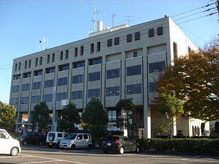 Tajimi City in Chūbu, Japan