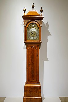 image of a tall case clock