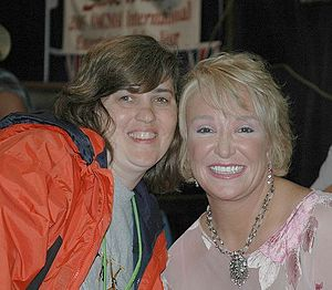 Tanya Tucker - Tanya Tucker (right) at the 2005 CMA Music Festival.