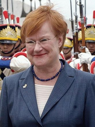 Finnish presidential election, 2006 - Image: Tarja Halonen 2003